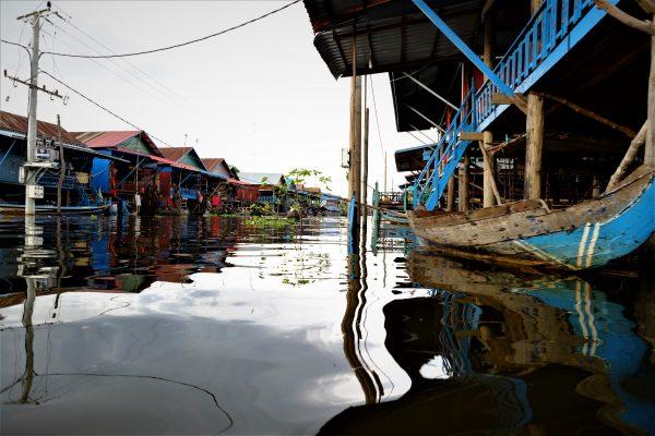L'un des plus beaux coins du Cambodge, le lac de Tonle Sap