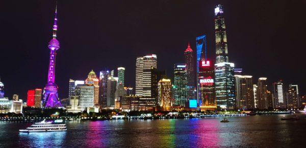 Vue de Shangai la plus grande ville de Chine
