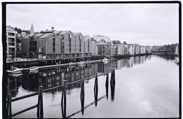Les quais de Trondheim