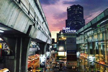Un coucher de soleil où j'étais mal placé et en retard, Bangkok