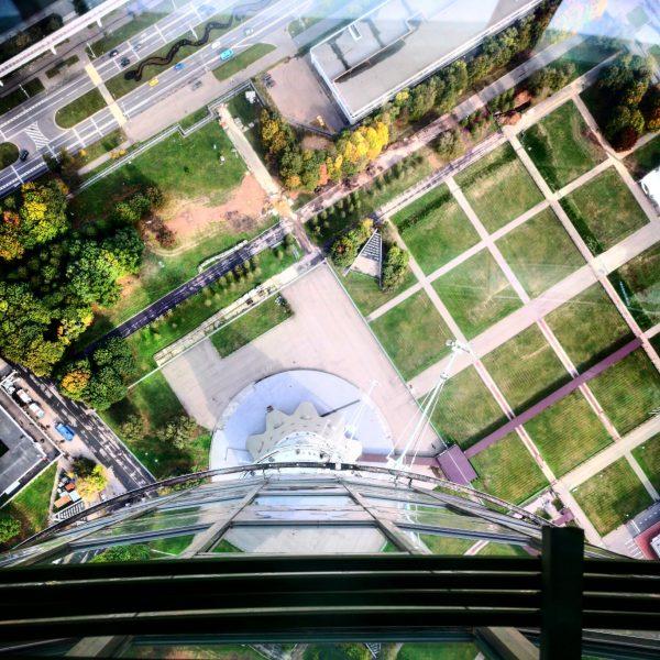 Ostankino, la tour de télévision de Moscou