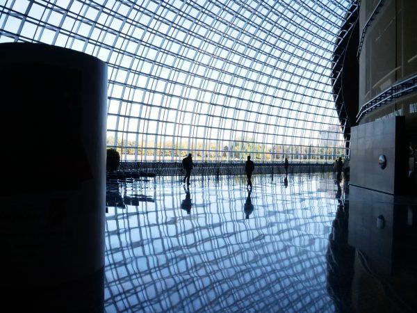 Une architecture splendide en plein centre de Pékin, c'est le théâtre National