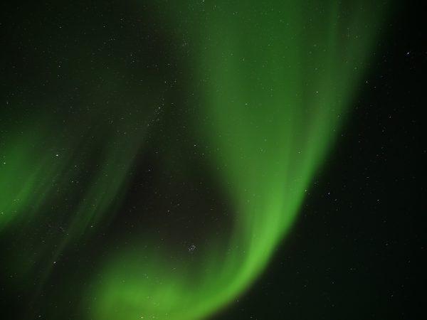 Une aurore boréale photographiée depuis les îles Lofoten