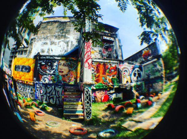 Ratchathewi, le quartier du Street art à Bangkok