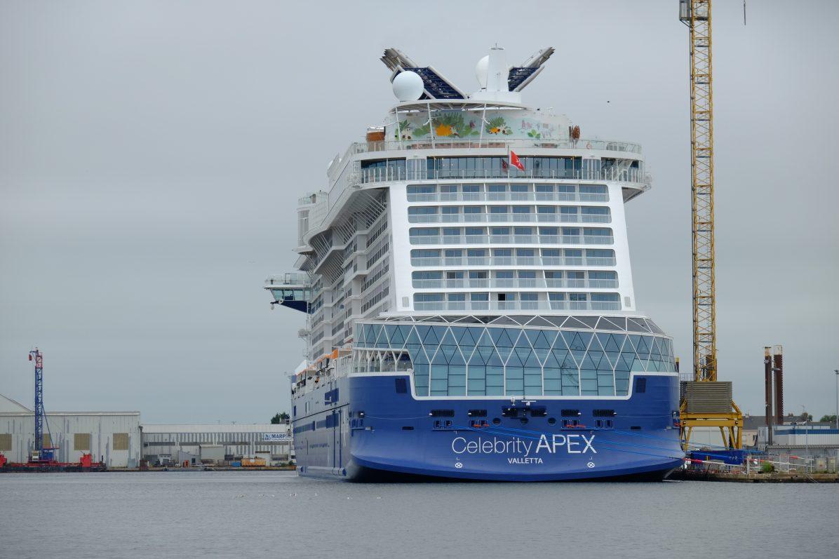 Avec ses 306 mètres le Celebrity APEX est l'un des plus grands paquebots du monde