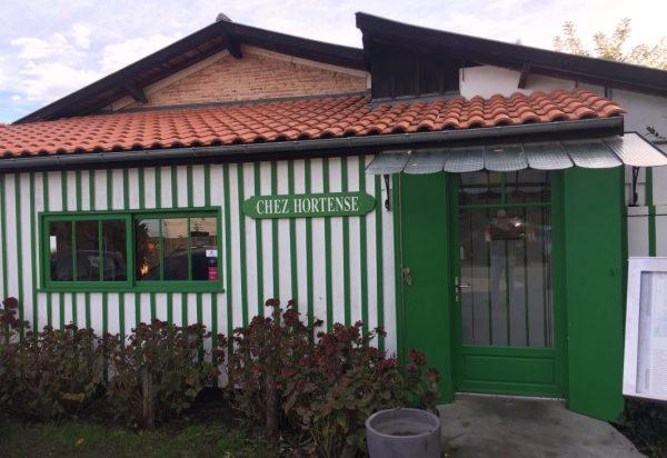 Hortense le restaurant situé à la pointe du Cap Ferret