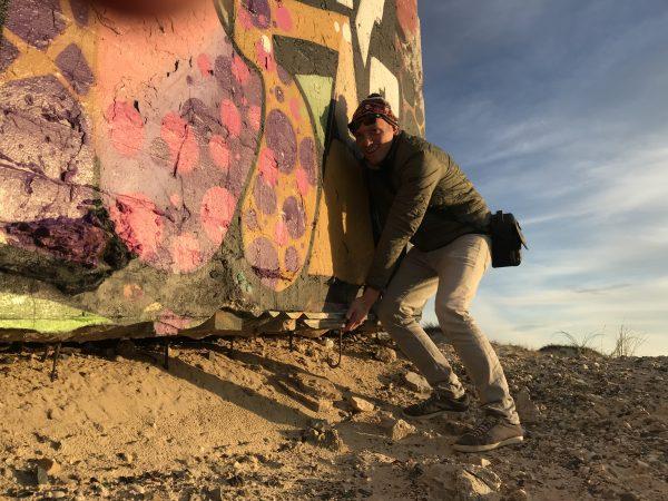 Yann au Cap Ferret en novembre 2018