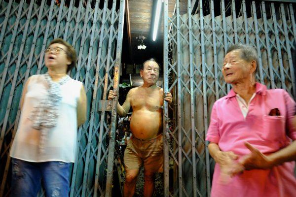 Portrait d'habitants à Bangkok