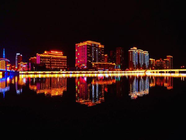 La rivière de Janzi dans le nord-est de la Chine