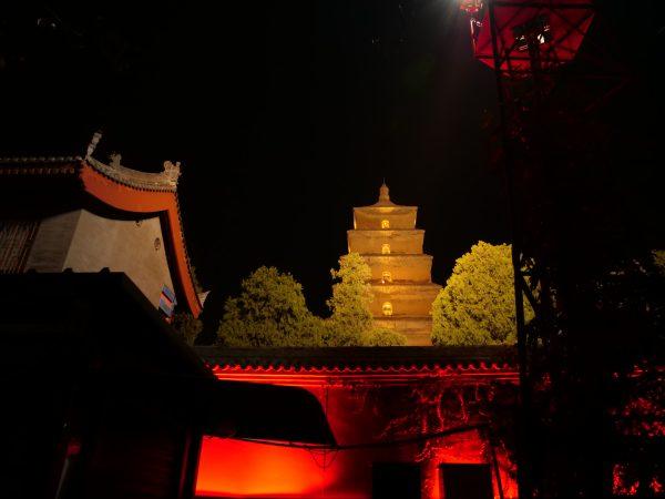 Xian la nuit un lieu génial pour la street photography