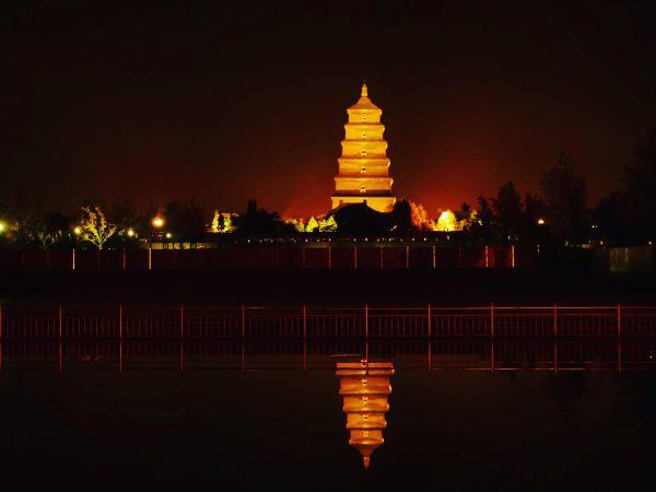 La Grande Pagode, un monument important à Xian