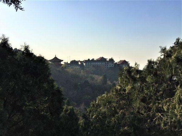 La forêt et la montagne li non loin de Xian