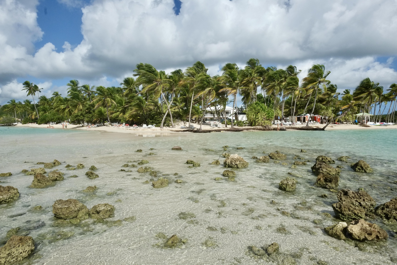 La plage de la Caravelle à Sainte-Anne