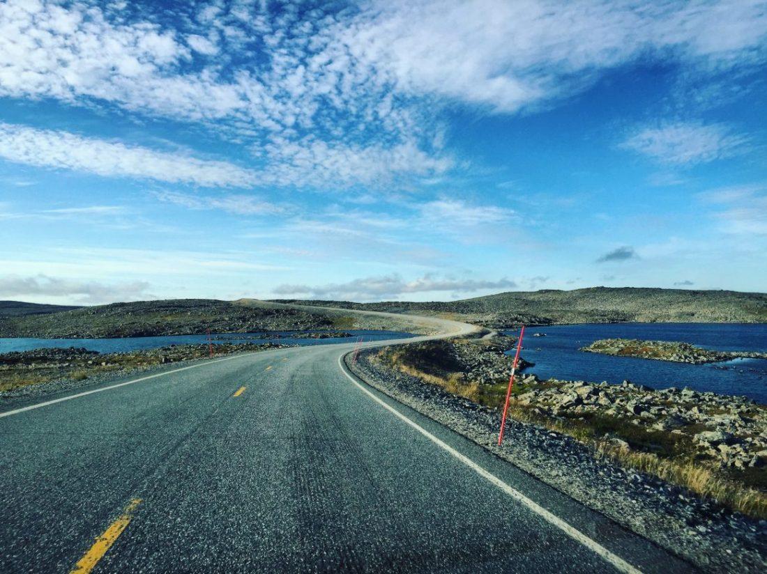 En hiver cette route est fermée quasiment tout l'hiver