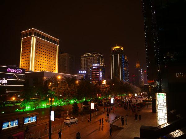 Xian, la nuit une promenade surprenante et intrigante