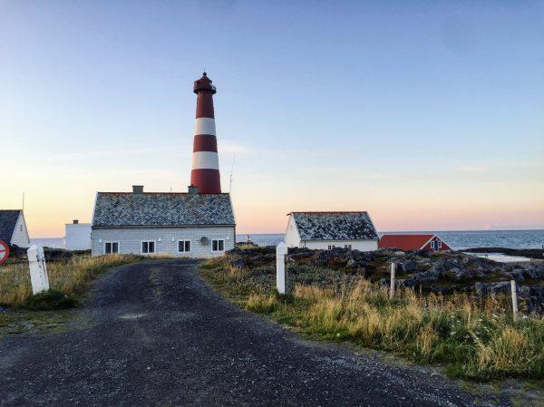 La route du phare de Slettnes, une route à couper le souffle