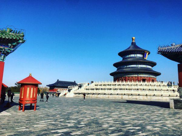 Le temple du ciel un des plus beaux endroits de Pékin