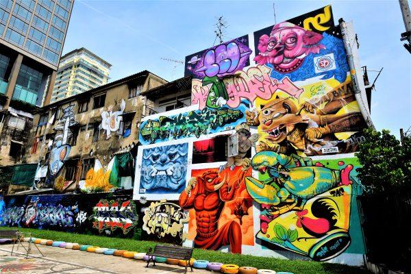 Une des plus belles surprises de Bangkok le quartier de Ratchathewi