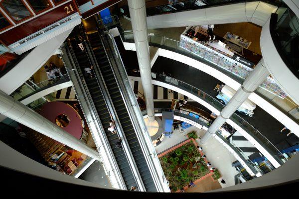 Bangkok et un centre commercial