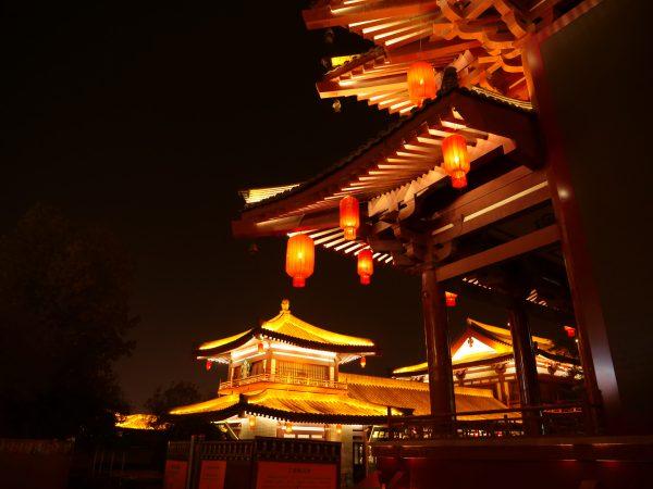 A la découverte de Xian pendant la nuit