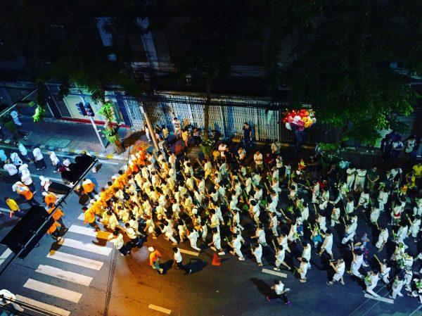 Le festival végétarien à Bangkok