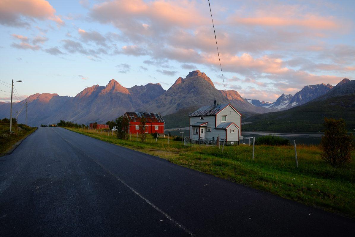 Une jolie route norvégienne
