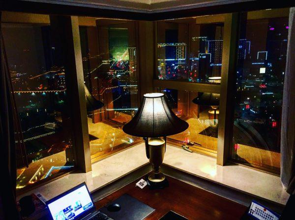 Une vue exceptionnelle depuis le 20 ème étage