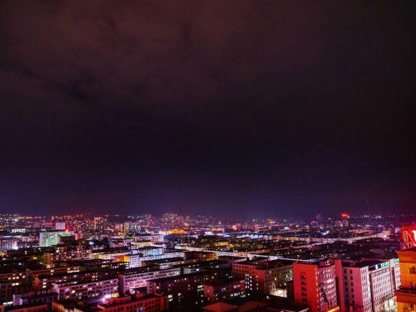 Yanji une ville chinoise du nord de la Chine