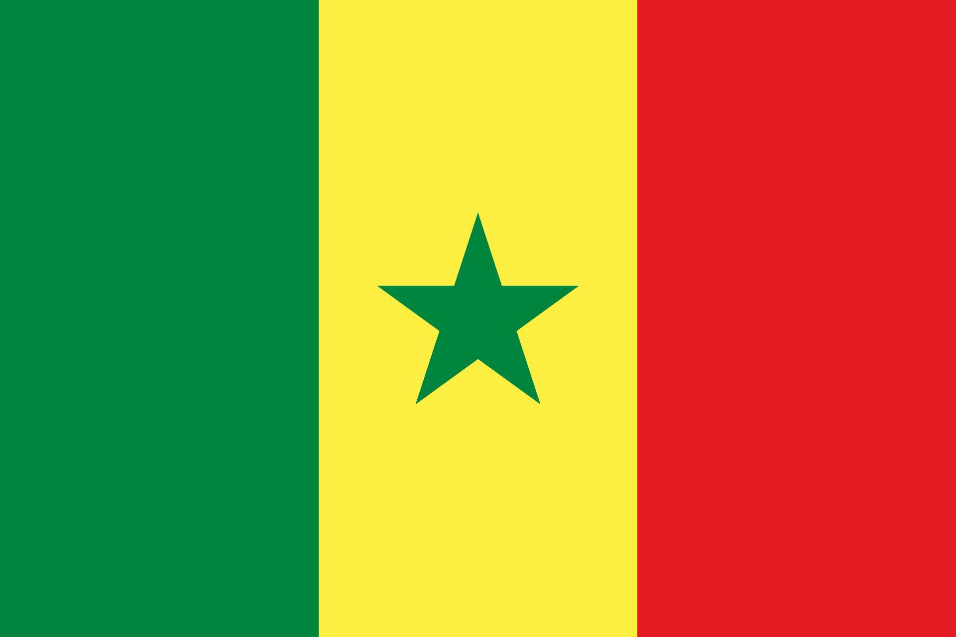 drapeau du sénégal