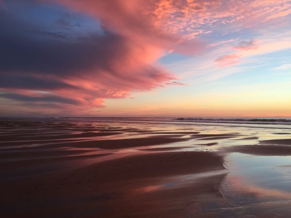 Un coucher de soleil au Cap Ferret