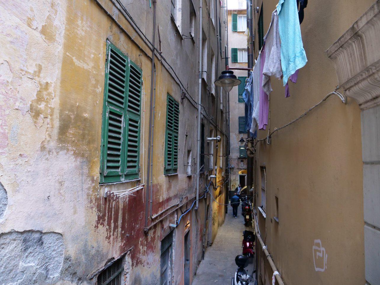 Escale dans les ruelles de Gênes