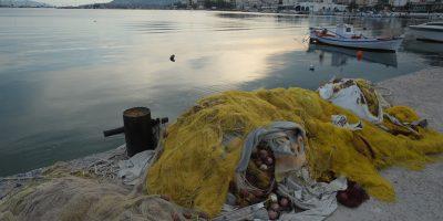 Le port de Salami en Grèce