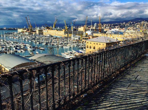 Gênes une ville hors du commun.