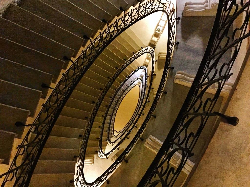 Un escalier à Gênes