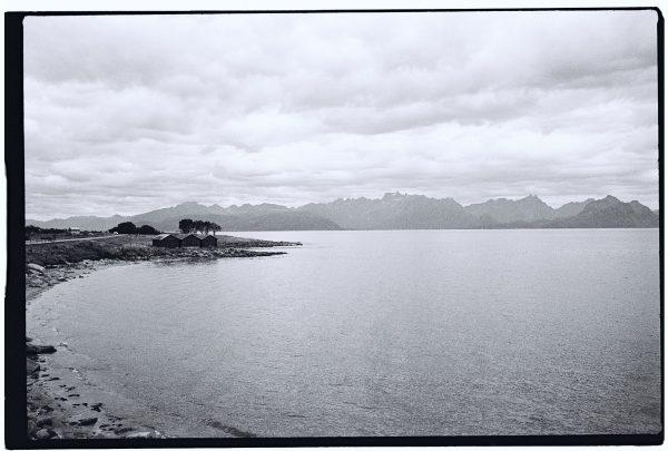 Un paysage norvégien typique, loin des zones touristiques