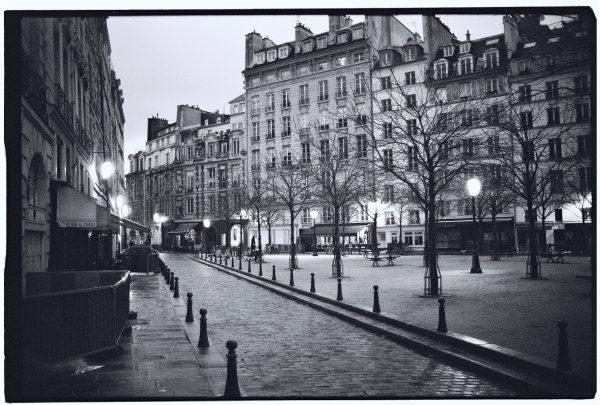 Le centre de Paris, l'île de la Cité et la place Dauphine