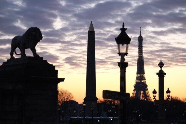 La place de la Concorde, le point de départ des Champs Elysées