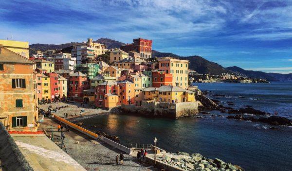 Un ancien petit village de pêcheur devenu un quartier de Gênes