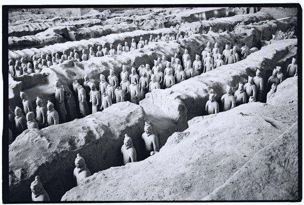 Les soldats en terre cuite ont été mis à jour en 1974