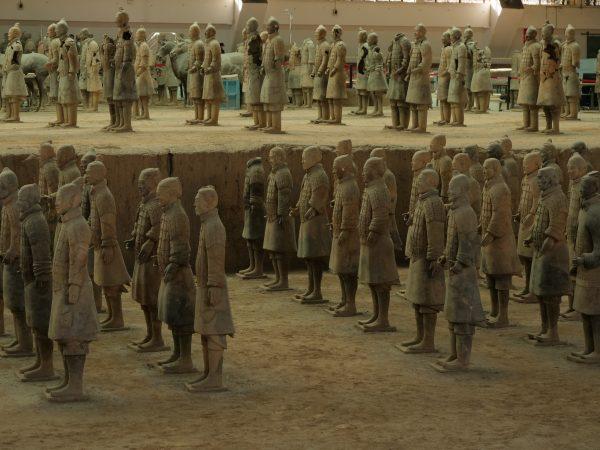 Insaisissable armée de terre cuite de Xian