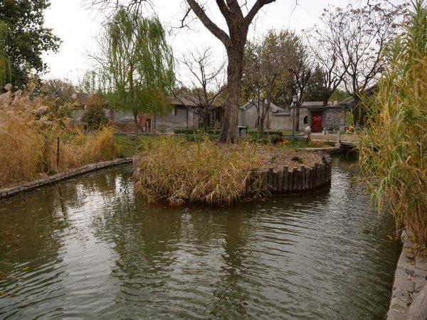 Un hutong au sud de Qianmen, à Pékin