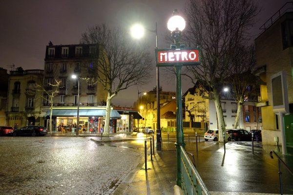 Métro Danube l'un des endroits les plus méconnus de Paris