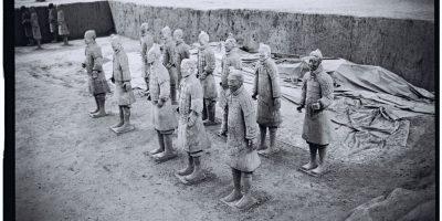 """Reconstitution et préservation des soldats en """"terracota"""""""