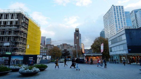 Rotterdam en automne