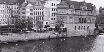 La Vltava et Prague