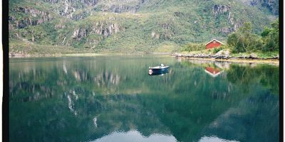 Un Fjord sur l'archipel des Lofoten