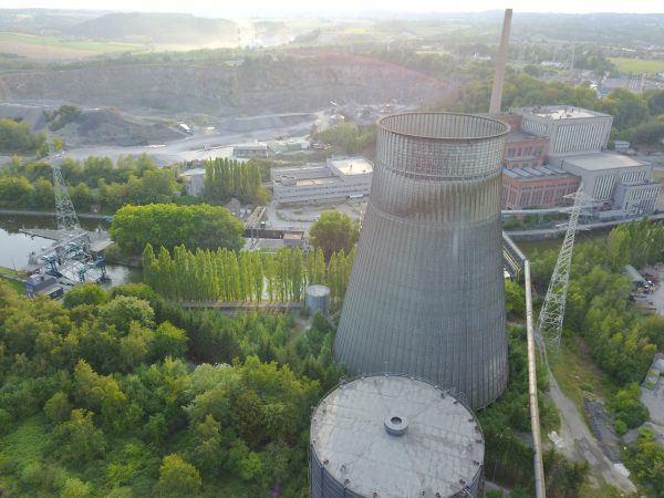 Charleroi et un site Urbex de classe mondiale