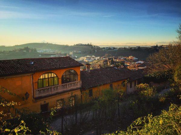 Govone un petit village du nord de l'Italie