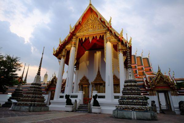 La fin de journée le meilleur moment pour visiter les temples dans le calme