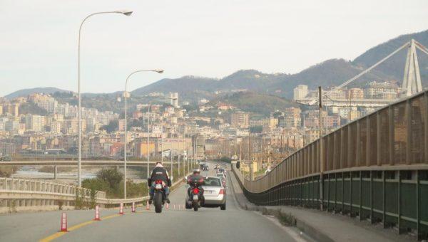 Dans le nord de Gênes
